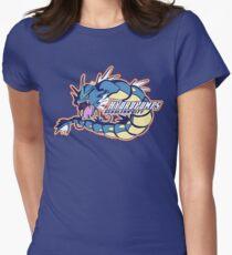 Cerulean City Hydro Pumps: Gyarados Sport Logo Women's Fitted T-Shirt