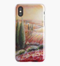 tuscany light iPhone Case
