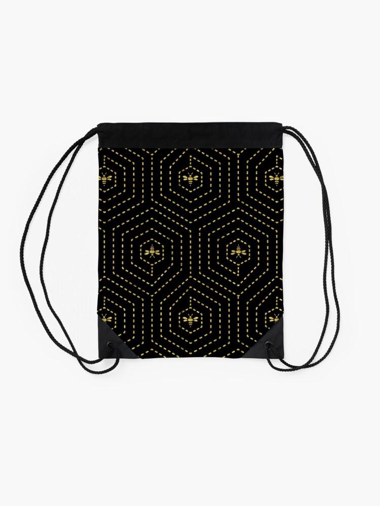 Alternate view of Honeycomb Home Drawstring Bag
