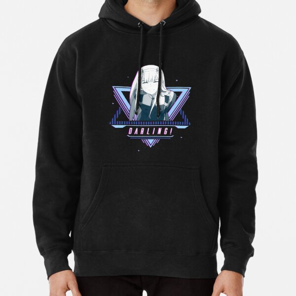 Zero Two - Anime Wifu Shirt   Darling in the Franxx Pullover Hoodie