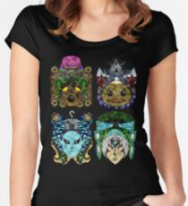 You've met with a terrible fate, haven't you? Women's Fitted Scoop T-Shirt