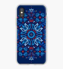Folk Blumengeschichte iPhone-Hülle & Cover