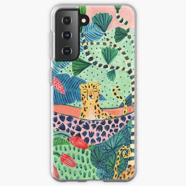 Jungle Leopard Family! Samsung Galaxy Soft Case