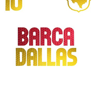 Barca Dallas Messi Shirt by soccerjoe
