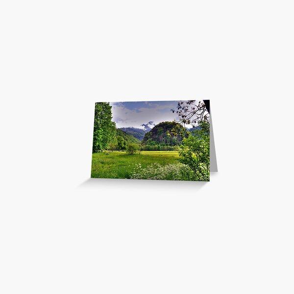 Spring at German Countryside Greeting Card