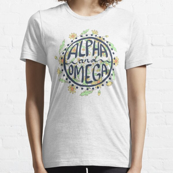 Alpha and Omega 3 Essential T-Shirt