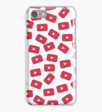 YouTube Play Button iPhone Case/Skin