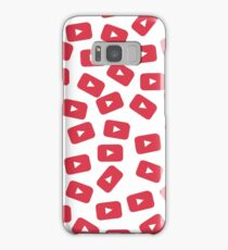 YouTube Play Button Samsung Galaxy Case/Skin