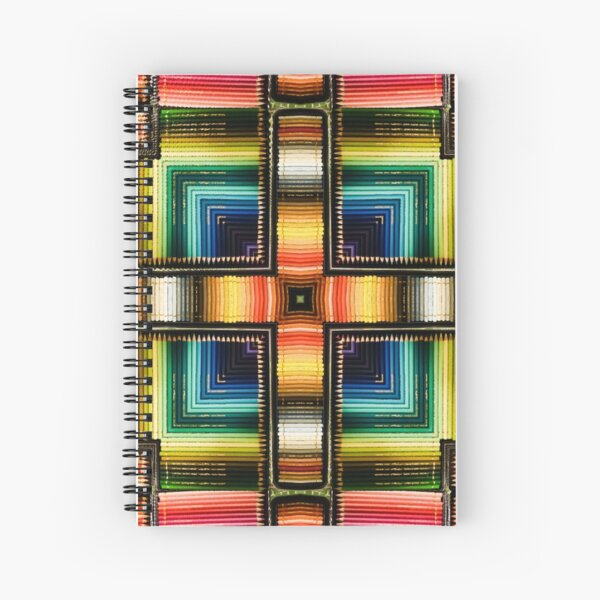 Graphite Rainbow Spiral Notebook