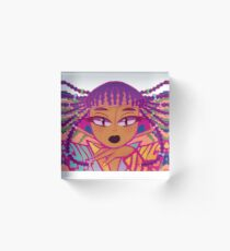 BRAIDZZZ Acrylic Block