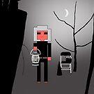 Rex with Lantern in the Haunted Garden by Simo Sakari Aaltonen