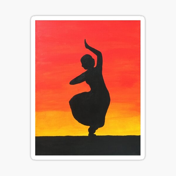 Indian Dancer Stickers Redbubble