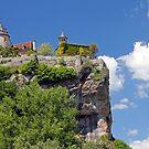 Chateau de Belcastel, Perched Above the Dordogne River  by A.M. Ruttle