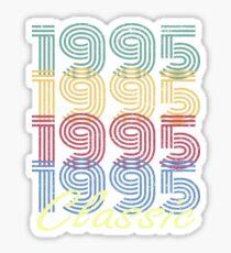 Born in 1995 Vintage Sticker