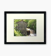 Lanterman's Mill in Spring Framed Print