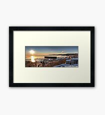 Good Morning -- Marquette Michigan Framed Print