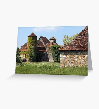 Hameau of Magnol, France Greeting Card