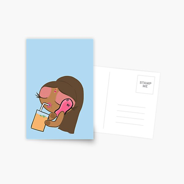 Desi Girl Postcard