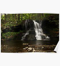 Dry Run Waterfalls-Hillsgrove, PA Poster
