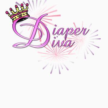 Diaper Diva by Charpaints