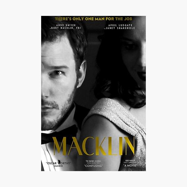 """Macklin"" poster 2 Photographic Print"