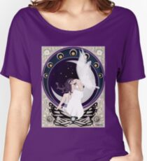 Fairy art nouveau Women's Relaxed Fit T-Shirt