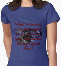 Paarthurnax Wisdom Women's Fitted T-Shirt