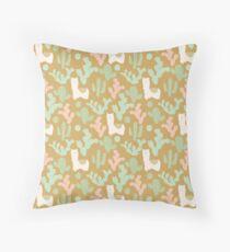 Llamas and Cacti Floor Pillow