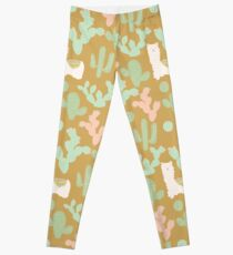 Llamas and Cacti Leggings