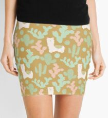 Llamas and Cacti Mini Skirt