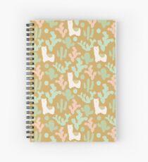 Llamas and Cacti Spiral Notebook
