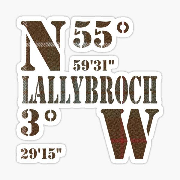 Lallybroch Sticker