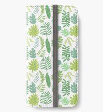 Tropical Leaves iPhone Wallet/Case/Skin