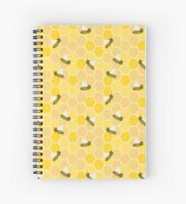 Honeybees Spiral Notebook