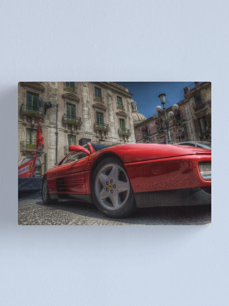 Alternate view of Ferrari Testarossa Canvas Print