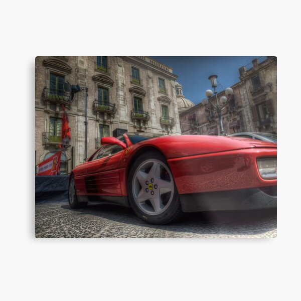 Ferrari Testarossa Metal Print