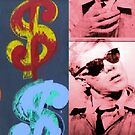 Warhol Excerpt Process Book Covers by Michelle Side