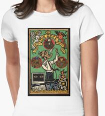 The Geek Womens Fitted T-Shirt