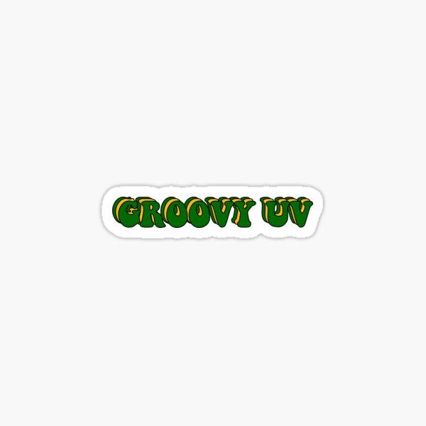 Groovy UV University of Vermont Sticker