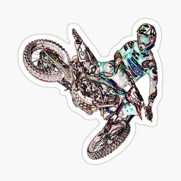 Dirt Bike Adventures Sticker