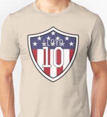 Carli Lloyd # 10 | USWNT Slim Fit T-Shirt