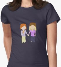 You're My Always - Willow & Tara Stylized Print Women's Fitted T-Shirt