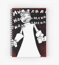 Doctor Horrible - Non Transparent Evil Laugh Spiral Notebook