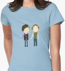 Shrimp Girl - Amy and Reagan Stylized Print T-Shirt