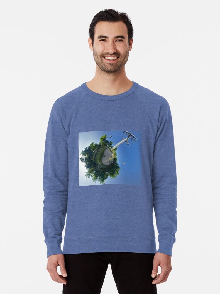 Alternate view of Earth Sculptures at Floriade 2012 Lightweight Sweatshirt