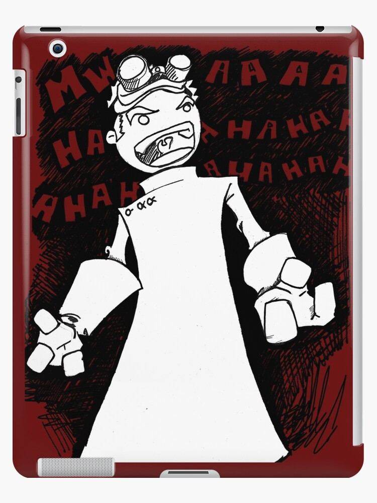 Doctor Horrible Transparent Evil Laugh Ipad Cases Skins By