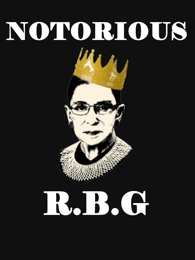 Notorious RBG von yanelizabeth123
