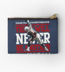 Limited Edition There Will Never Be Another, Rob Gronkowski, Gronk, New England Patriots, Shirts, Mugs & Hoodies Zipper Pouch