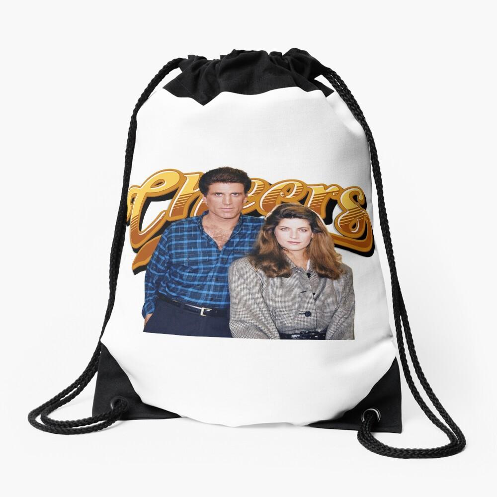 cheers television show Drawstring Bag