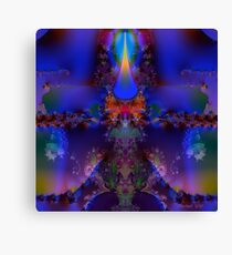 Purple Utopia Canvas Print